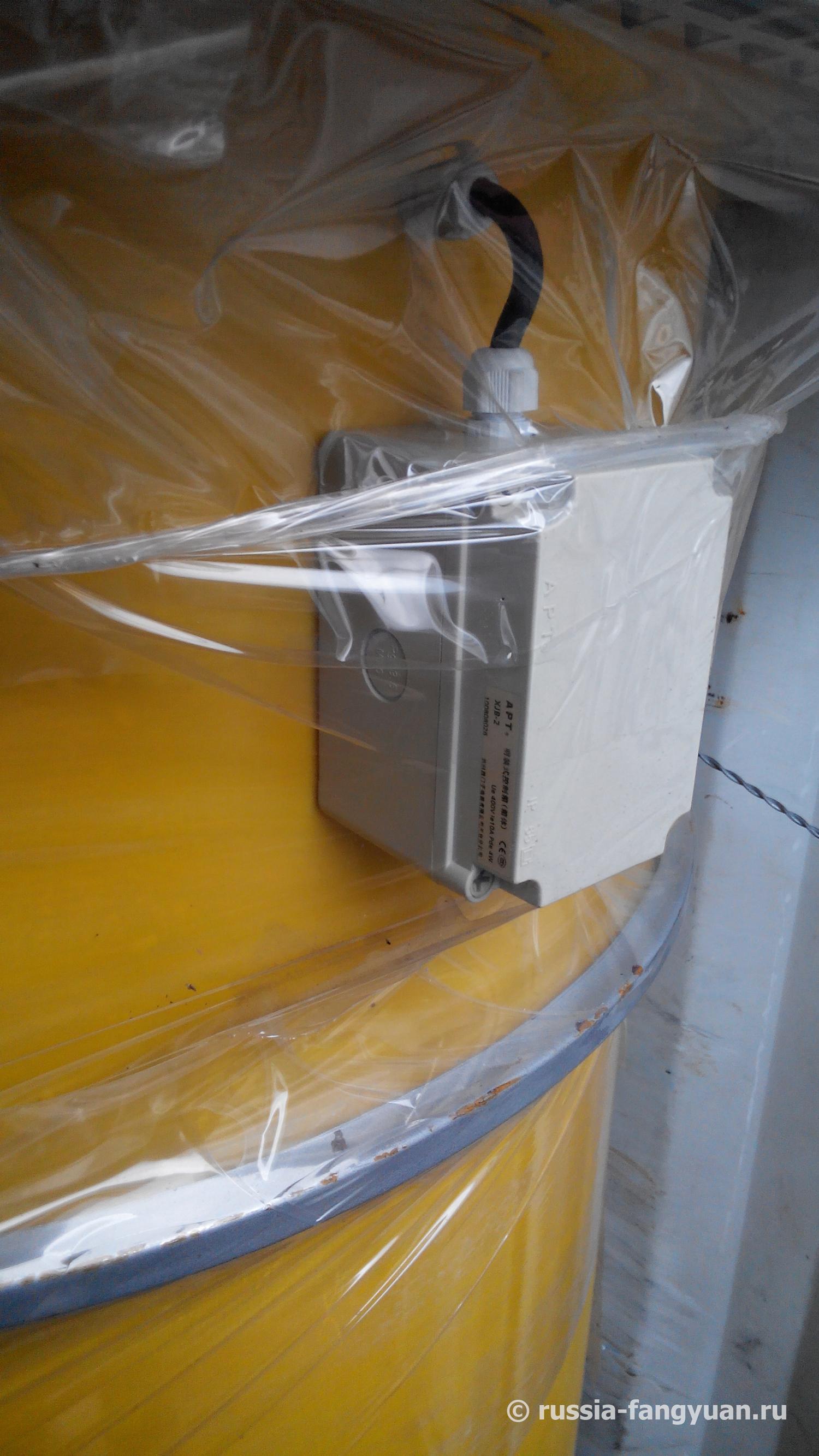 Виброочиститель пылеуловителя цементного силоса