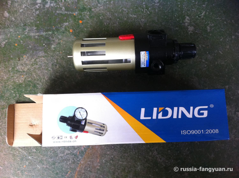 Фильтр-регулятор давления воздуха BFR4000