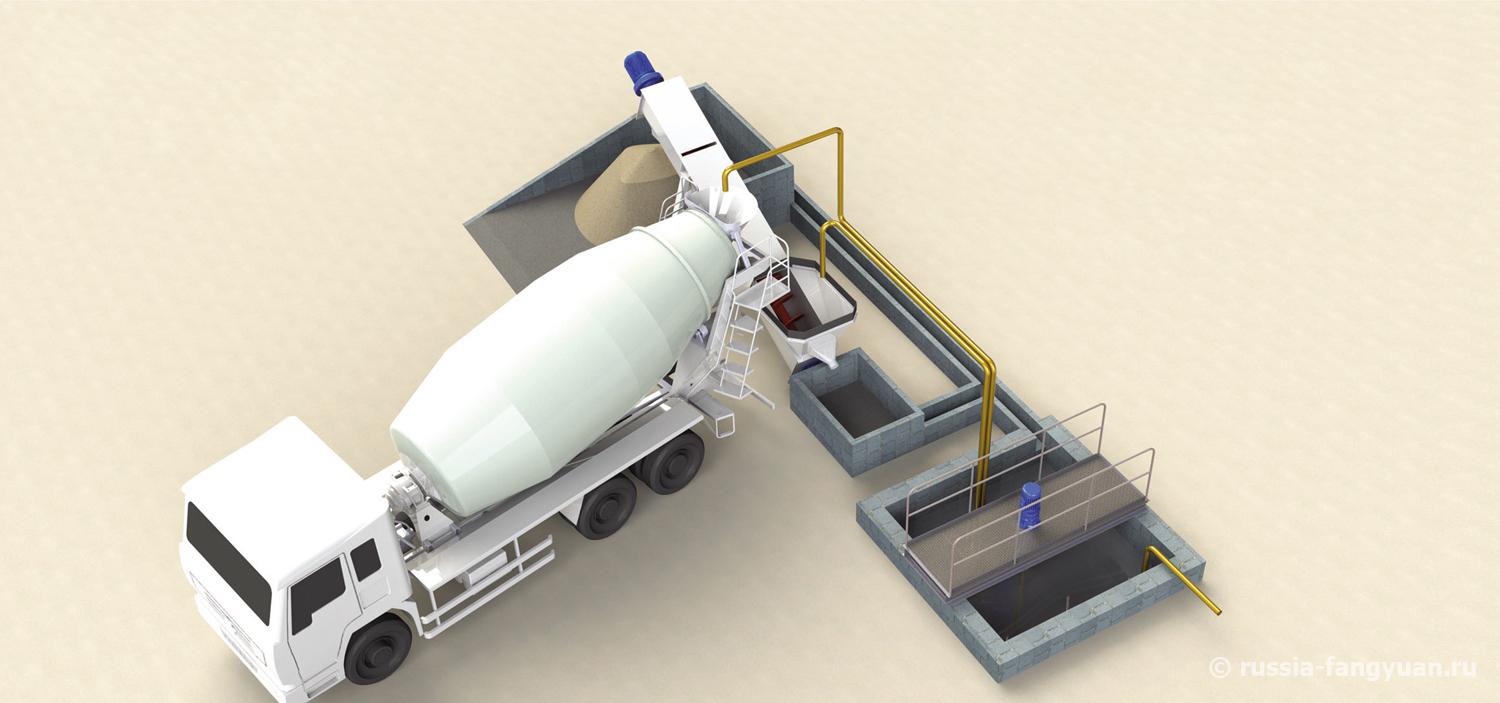 Система рециркуляции бетона