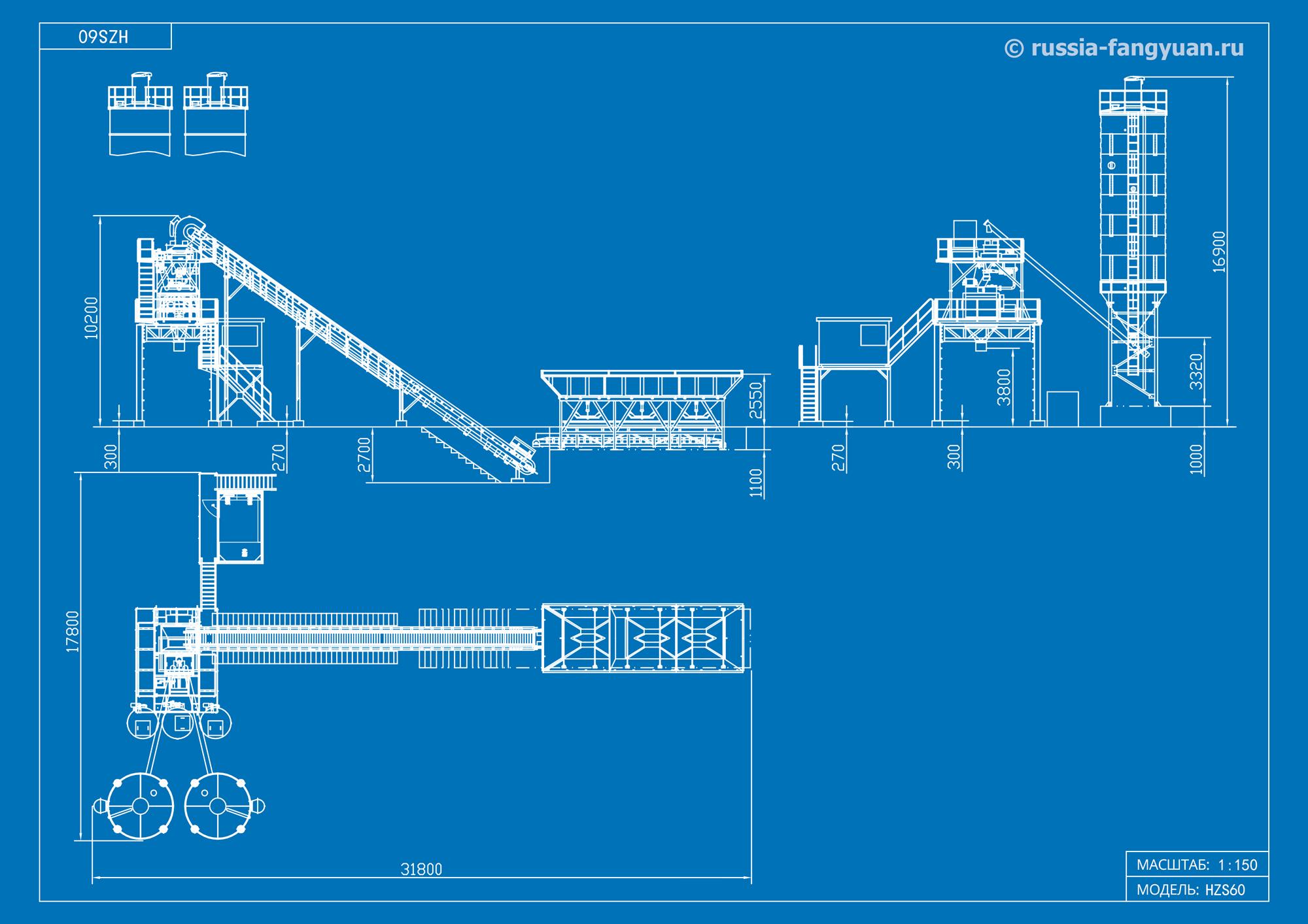 Схема БСУ HZS60