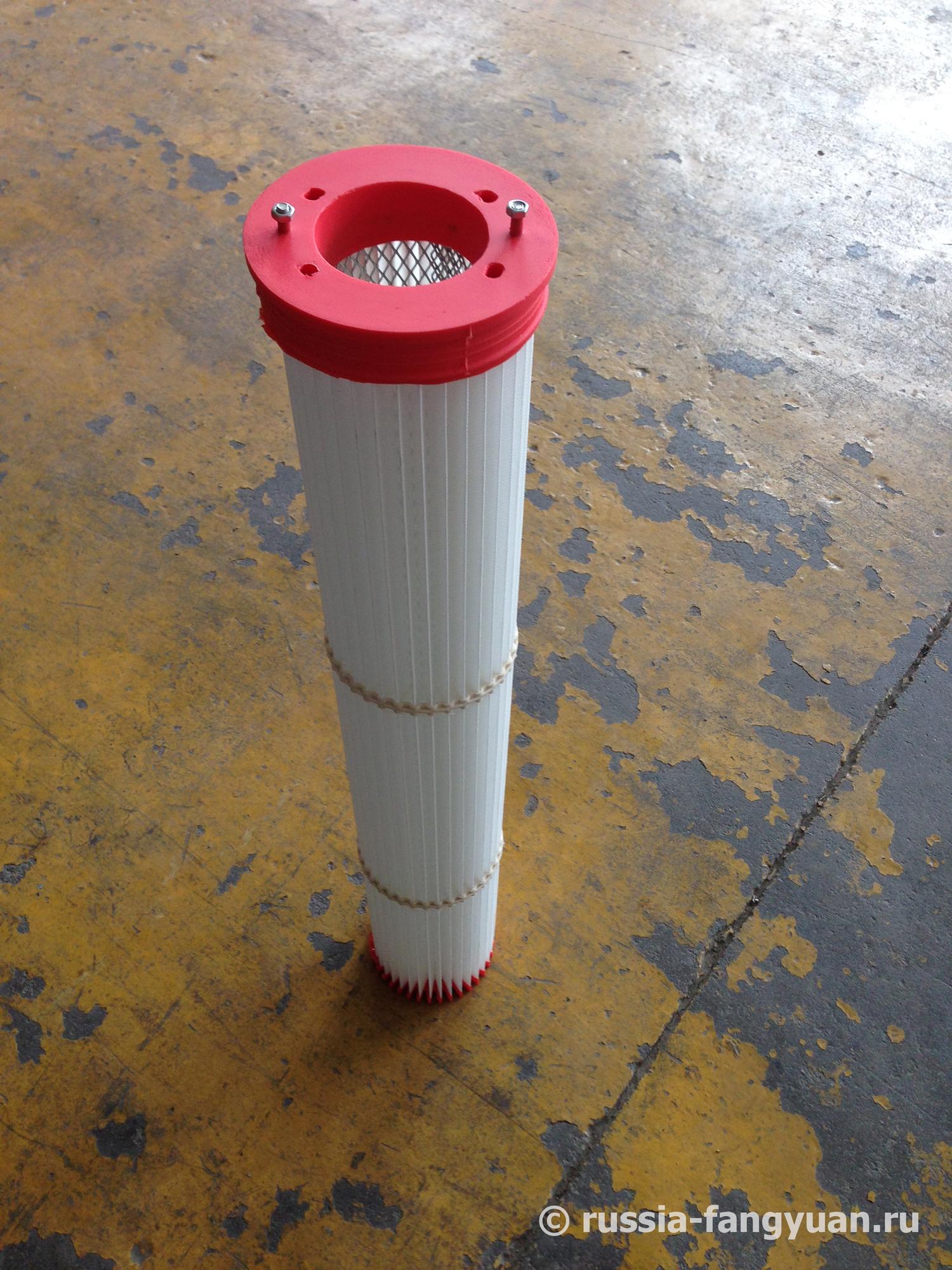 Сменный картридж (фильтр) пылеуловителя цементного силоса
