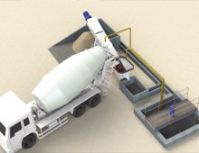 Система переработки бетона (рециклинг)